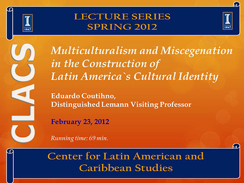 Multiculturalism and Miscegenation in the Construction of Latin America`s Cultural Identity