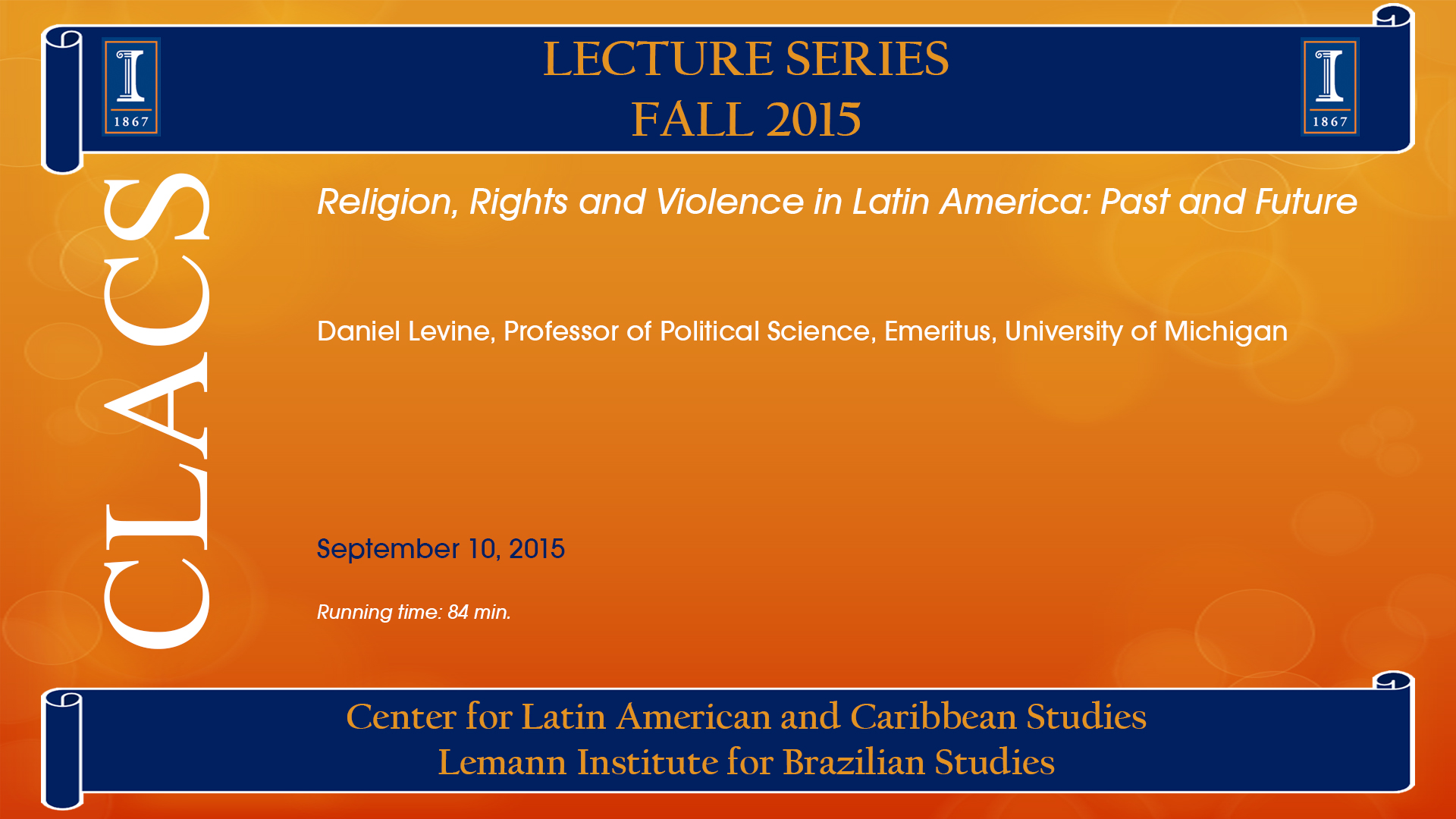 Religion, Rights and Violence in Latin America: Past and Future