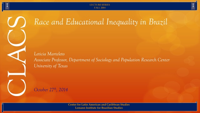 Race and Educational Inequality in Brazil