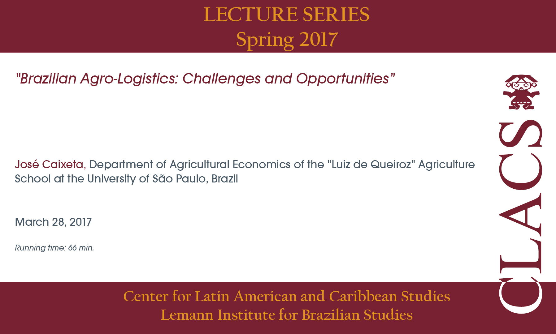 Brazilian Agro-Logistics: Challenges and Opportunities
