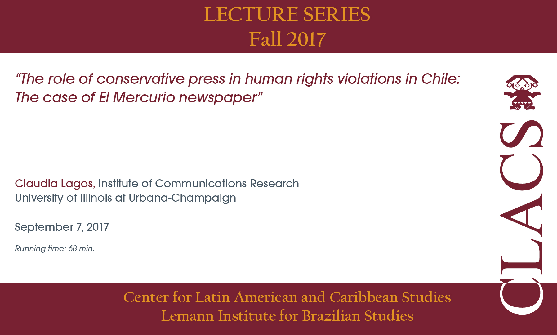 The role of conservative press in human rights violations in Chile: The case of El Mercurio newspaper
