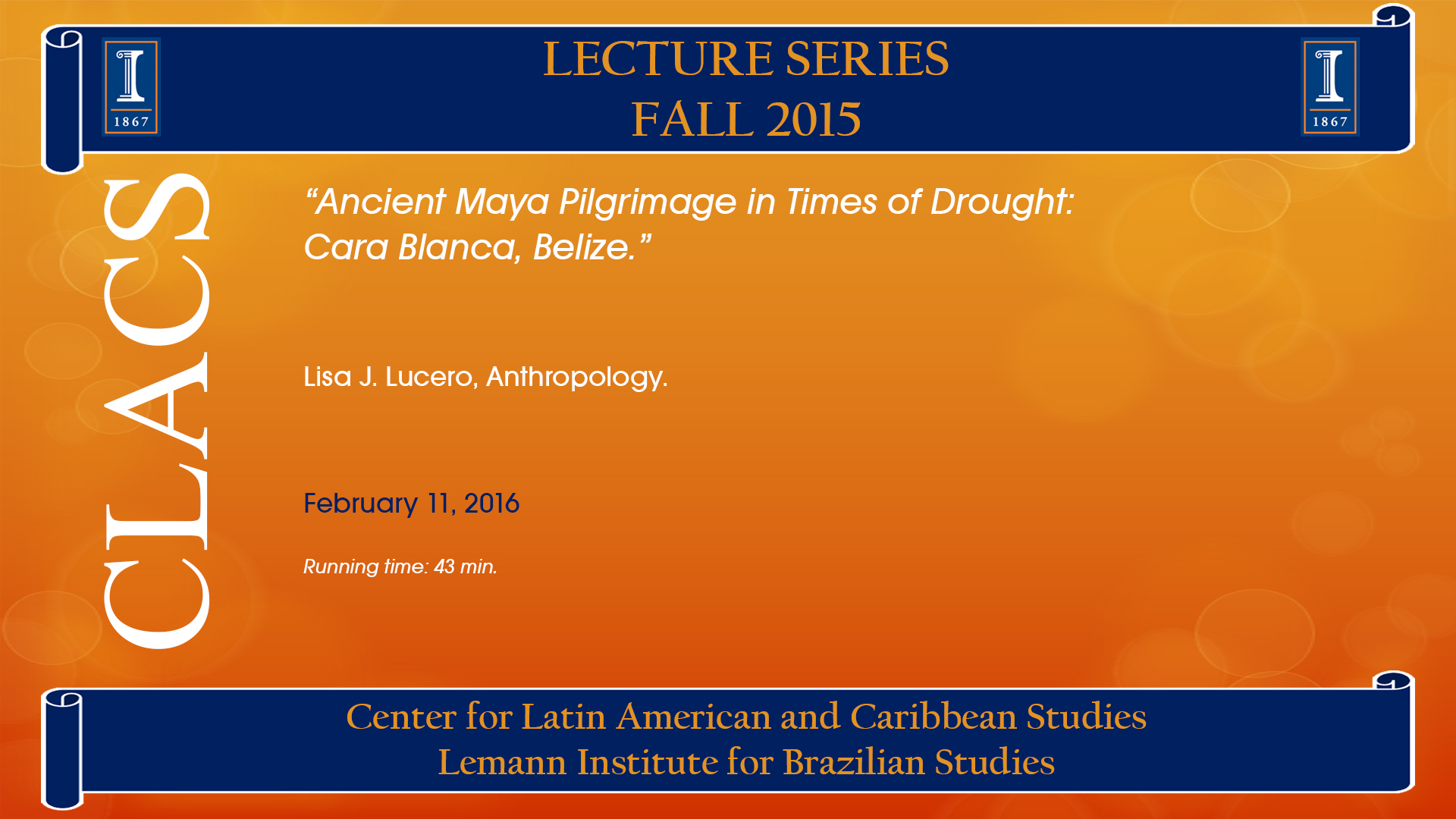 Ancient Maya Pilgrimage in Times of Drought: Cara Blanca, Belize