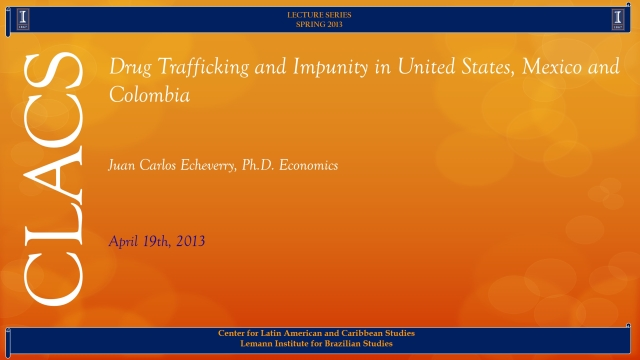 Drug Trafficking and Impunity in United States, Mexico and Colombia