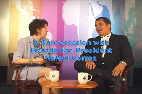 Illinois International: A Conversation with Ecuadorian President Rafael Correa