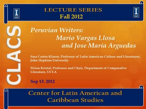 Peruvian Writers: Mario Vargas Llosa and Jose Maria Arguedas