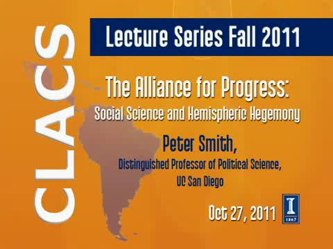 The Alliance for Progress: Social Science and Hemispheric Hegemony