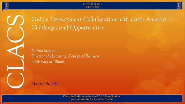 Online Development Collaboration with Latin America: Challenges and Opportunities