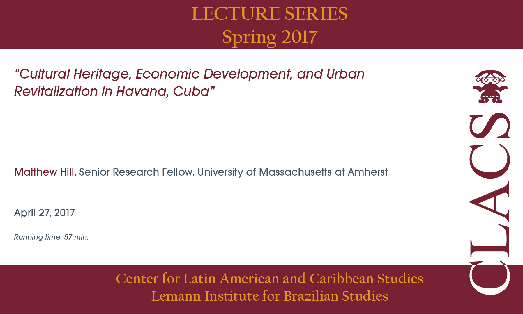 Cultural Heritage, Economic Development, and Urban Revitalization in Havana, Cuba