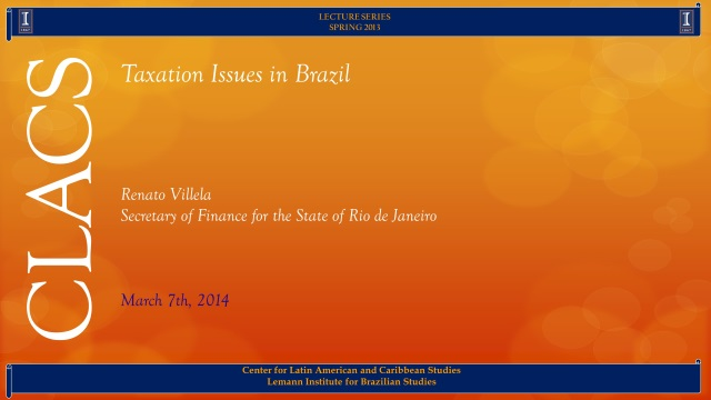 Taxation Issues in Brazil