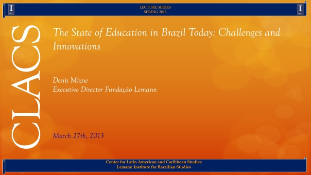 The State of Education in Brazil Today: Challenges and Innovations