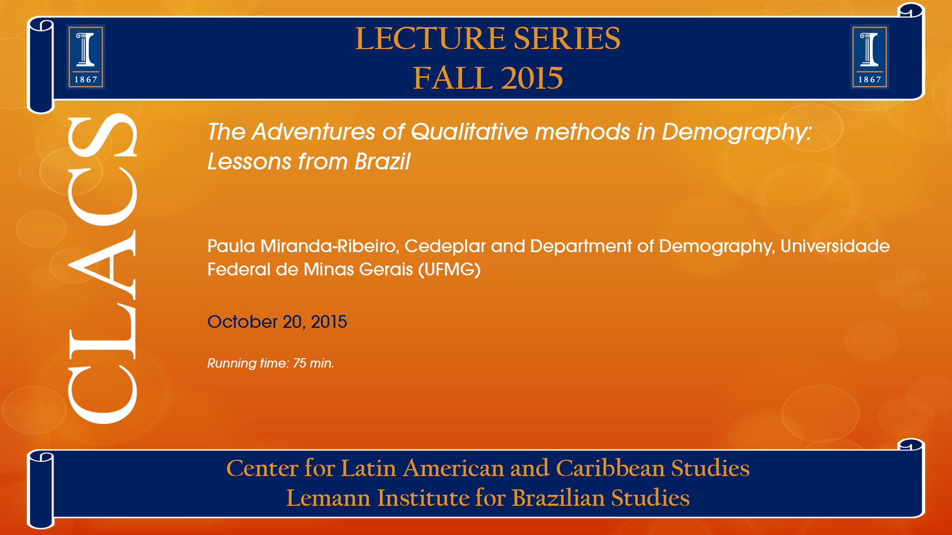 The Adventures of Qualitative methods in Demography:  Lessons from Brazil