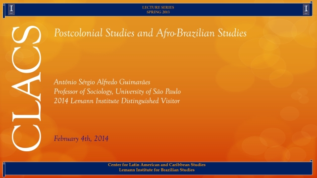 Postcolonial Studies and Afro-Brazilian Studies